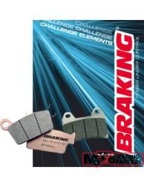 Plaquettes de freins avant Braking frité Triumph Speed Triple 1050 2008 à 2013
