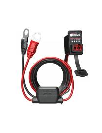 Cable avec indictateur de charge batterie NOCO X-Connect ODBII 12V