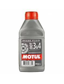 Liquide de frein MOTUL Dot 3 & 4 500ml