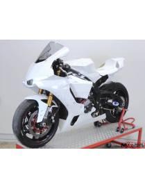 Kit carénages piste 6 pièces Motoforza Yamaha YZF-R6 2017 à 2019 (OEM echappement)