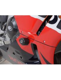 Aero crash protectors (Uppers) Honda CBR 600RR 2013 to 2019