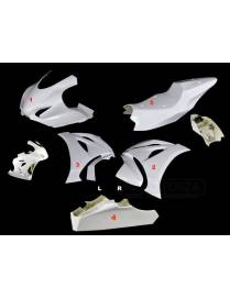 Fairings kit 5 parts Motoforza racing V2 Suzuki GSX-R 1000R 2017 to 2019