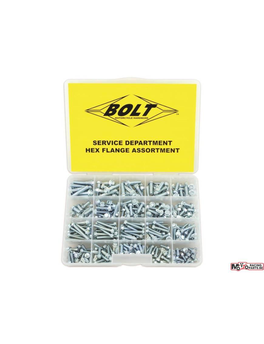 BOLT Engine & Frame Hex Screws Assortment 352 pieces
