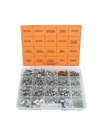BOLT Mixed Euro Screws Assortment 336 pieces