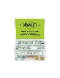 BOLT Nuts, Washers, Screws & Cotter Pins Assortment 422 pieces