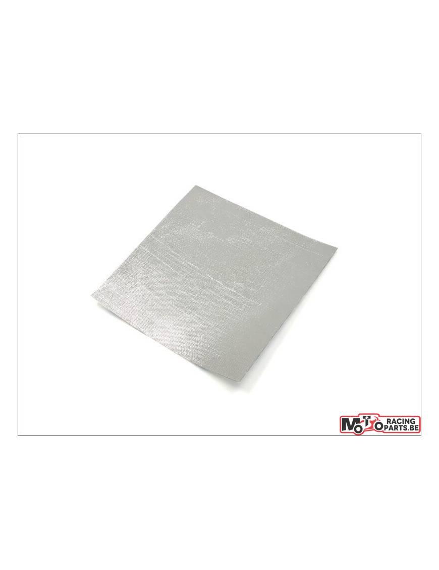 Feuille de protège chaleur pour échappement (250mm X 245mm X 0,35mm)