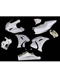 Fairings kit 6 parts Motoforza racing V3 Suzuki GSX-R 1000R 2017 to 2019