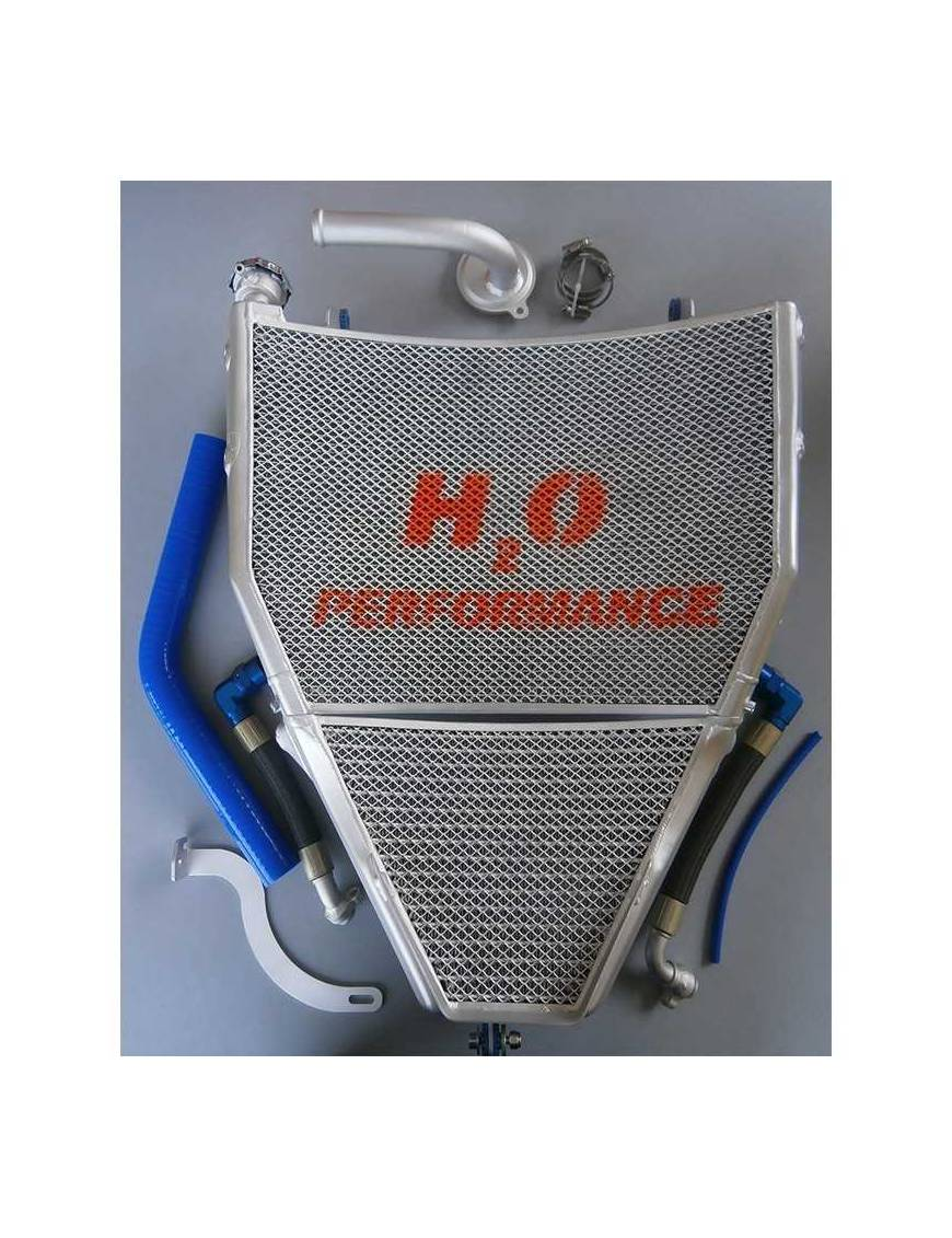 Radiator H2O Performance Water + Oil kit Yamaha YZF-R1 2015 to 2019