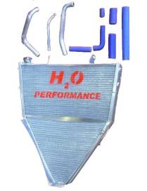 Radiator big volume H2O Performance Water Yamaha YZF-R6 08/16