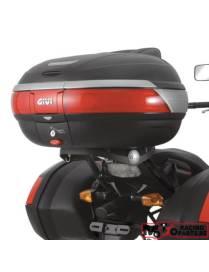 Rear rack Givi Monokey / Monoblock top case Kawasaki Versys 650 06-09