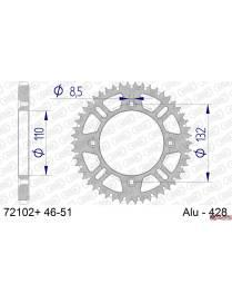Couronne aluminium AFAM 428 72102 Husqvarna TC85 / KTM SX85 / SX105