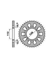 Aluminium rear sprocket PBR 520 4384 Yamaha YZF-R1 / R1M 2015 to 2019