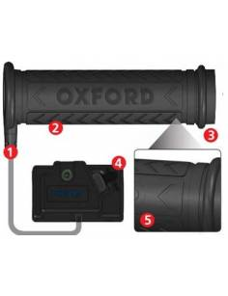 Heated grips Oxford ATV