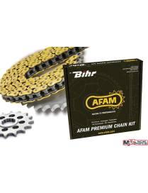 Kit chaine AFAM Aprilia RS4 125 2012 à 2018