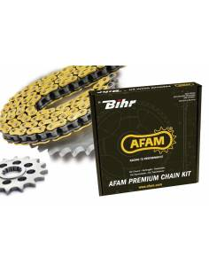Chain kit AFAM Steel 428 ApriliaTuono 4T 2018 to 2019