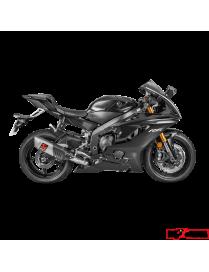Akrapovic Evolution Line 'Titanium' Yamaha YZF-R6 2008 à 2020
