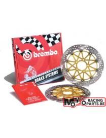 Paire de disques de freins Brembo HPK 310mm Honda CBR 600 RR 2003 à 2011 / CBR 1000 RR 2004 à 2005