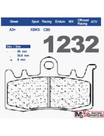 Brake pads Carbone Lorraine 1232 C60