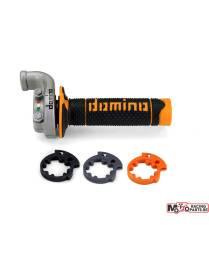 Poignée de gaz DOMINO KRK orange KTM Husqvarna 04/15