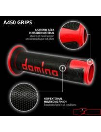 Poignées grip Domino A450 Street/Racing