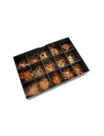 Copper Washers Set - 400 pieces