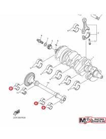 Coussinet equilibreur vilebrequin 16 Yamaha YZF-R1 15/20 et MT-10 16/20