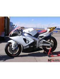 Kit carénages piste 3 pièces Motoforza Yamaha YZF-R1 2000 à 2001