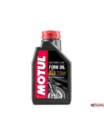 Huile de fourche Motul factory line 7,5W - 1L 100% synthèse