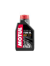 Huile de fourche Motul factory line 10W - 1L 100% synthèse