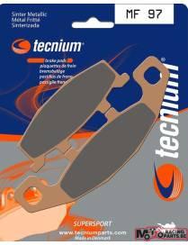 Plaquettes de frein avant TECNIUM MF97 métal fritté