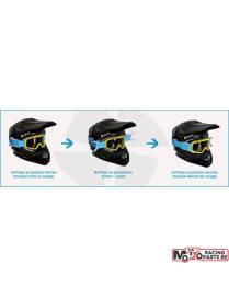 Airflaps - système antibué pour casque Enduro, Motocross et Supermoto