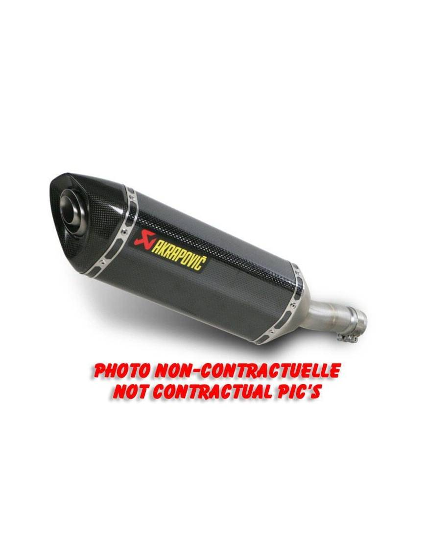 Akrapovic Silencer BMW S1000 RR (Carbon or Titanium)
