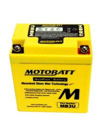 Battery Motobatt MB3U 3,8Ah / 98x56x110mm