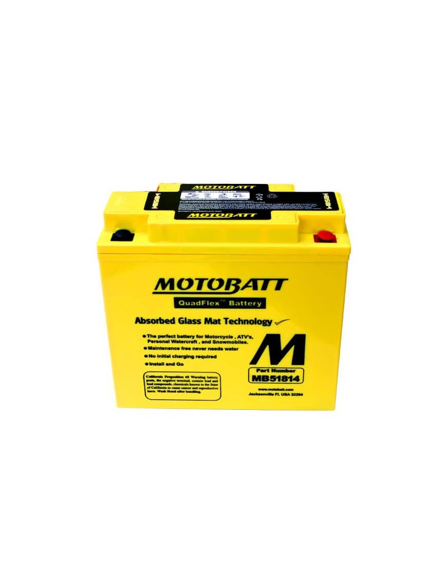 Battery Motobatt MB5.5U 7Ah / 135x60x130mm