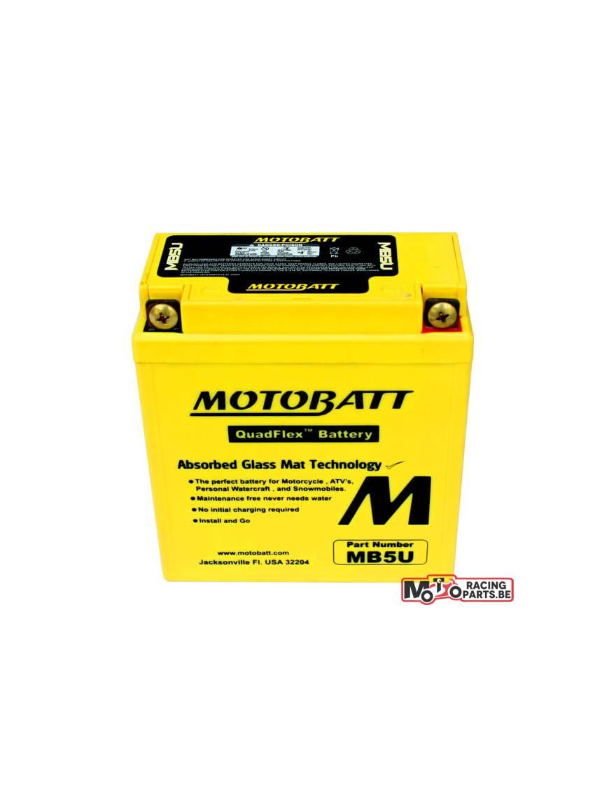 Batterie Motobatt MB5U 7Ah / 120x60x130mm