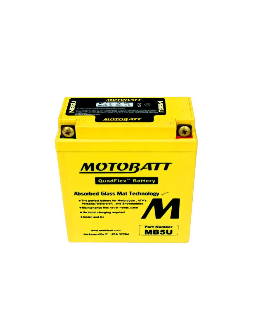 Battery Motobatt MB5U 7Ah / 120x60x130mm