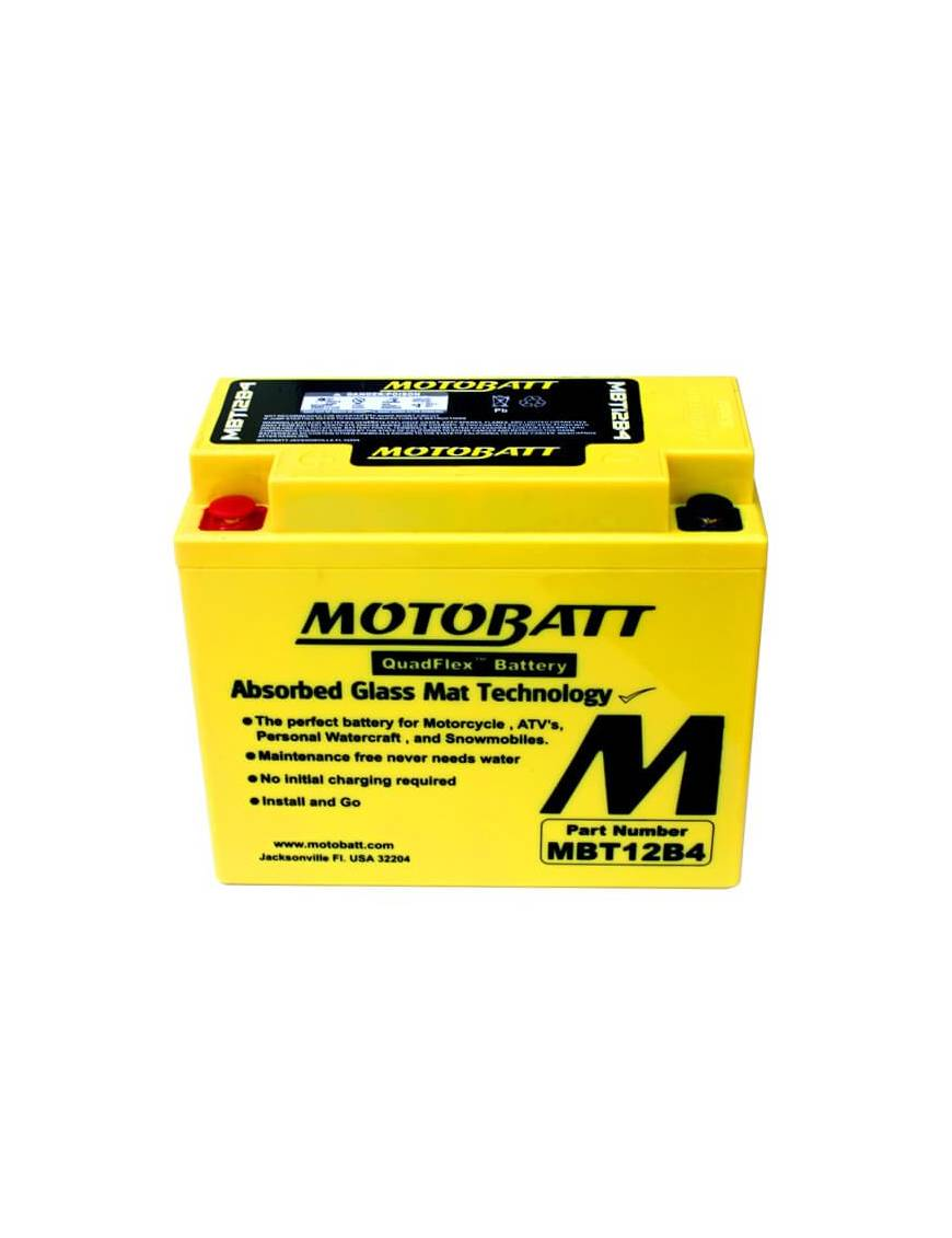 Battery Motobatt MBT12B4 11Ah / 150x70x130mm