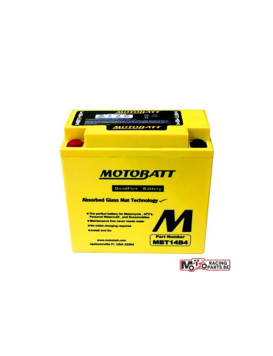 Batterie Motobatt MBT12B4 11Ah / 150x70x130mm