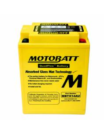 Batterie Motobatt MBTX14AU 16,5Ah / 135x90x168mm
