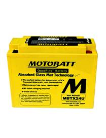 Battery Motobatt MBTX24U 25Ah / 205x87x162mm