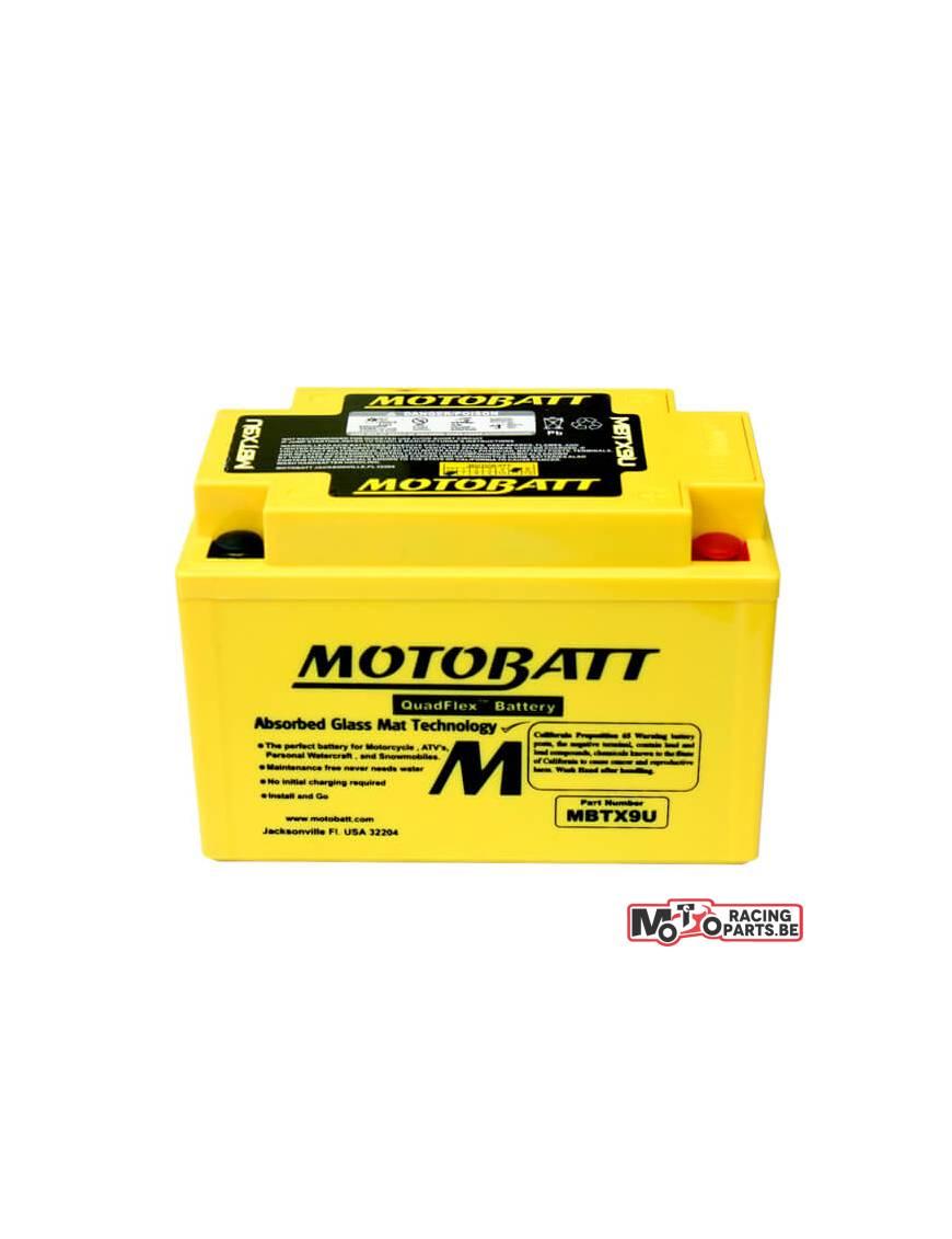 Batterie Motobatt MBTX9U 10,5Ah / 151x87x105mm
