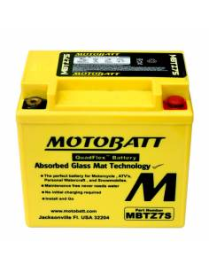 Battery Motobatt MBTZ7S 6,5Ah / 114x70x107mm