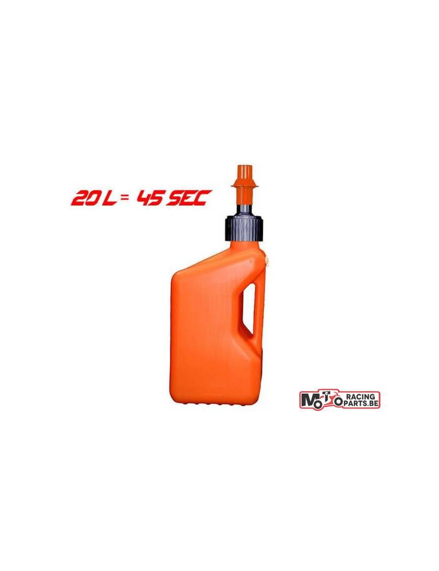 Bidon de remplissage TUFF JUG Blanc/Orange 20L