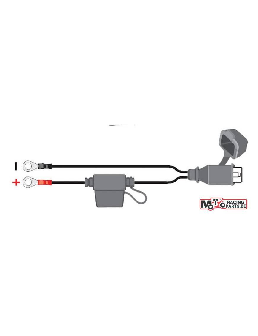 Connecteur chargeur batterie Tecmate Optimate