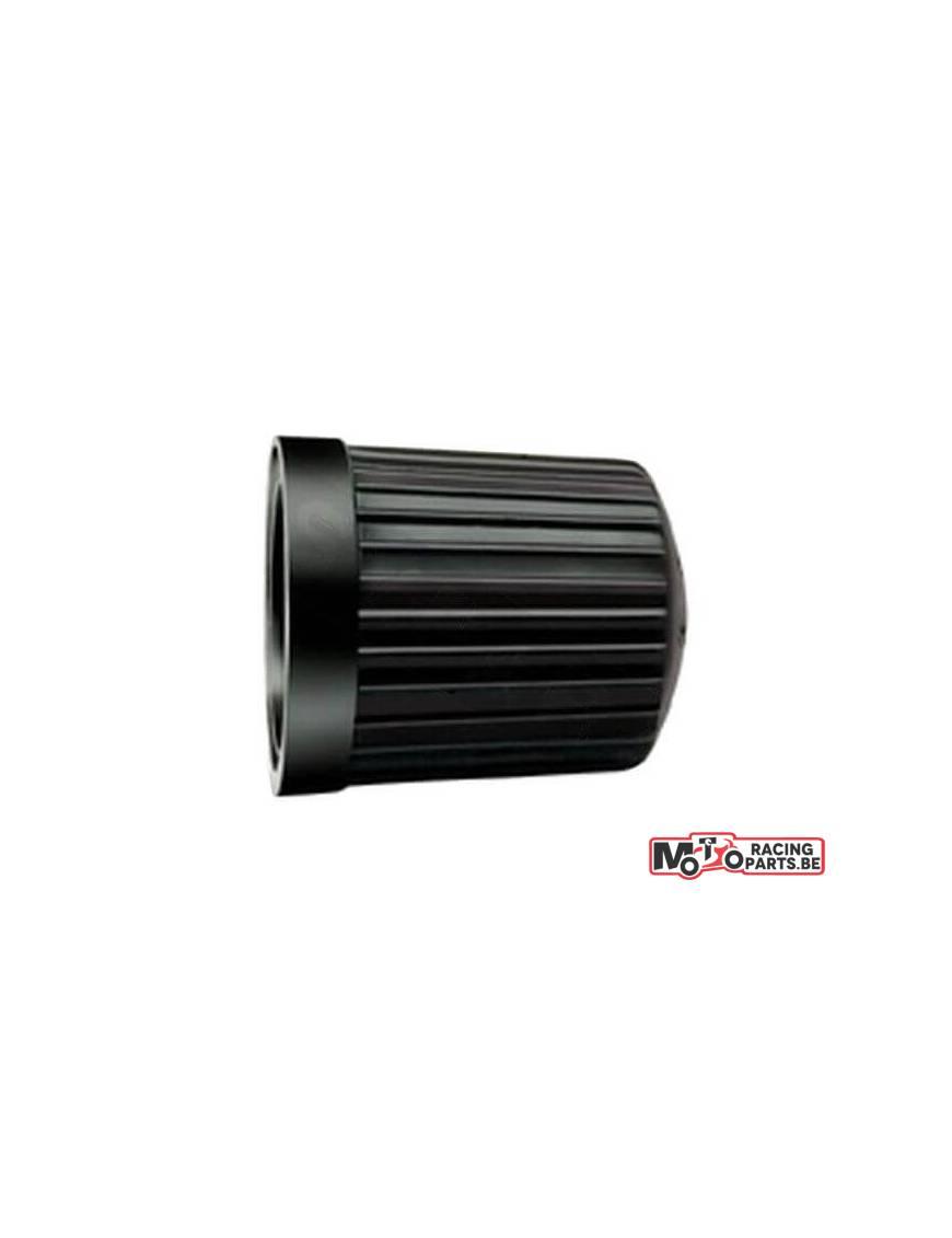 Black valve cap PVC