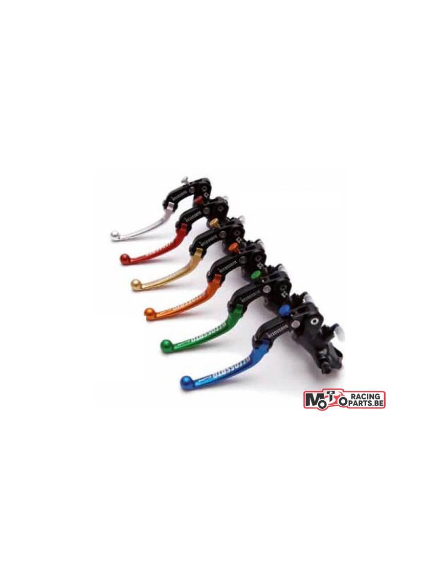 "Master cylinder Accossato ""Black Edition"" PR 19x20 with folding lever"
