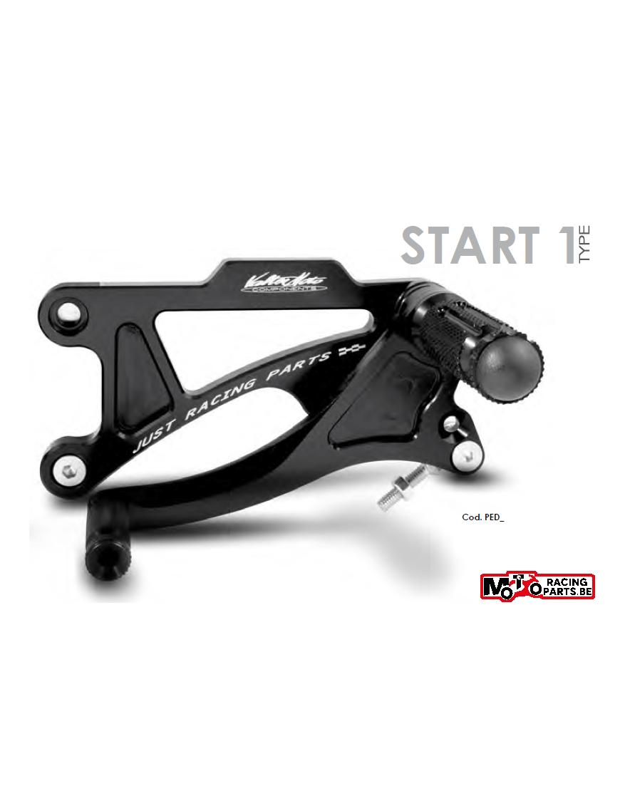 Rearset Valter Moto Type 1 Aprilia RSV1000 04-08