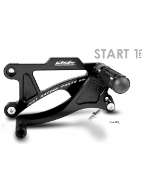 Commandes reculées Valter Moto Type 1 Ducati Monster 696 / 796 08-14