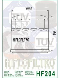 Filtre à huile Honda CBR / VTR