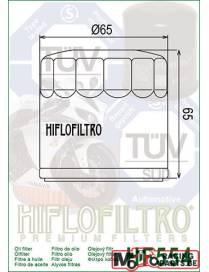 Filtre à huile HIFLO hf554 pour MV Augusta Brutale f4 Moto Filtre à huile